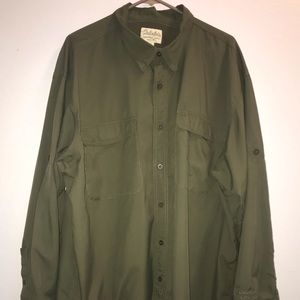 Cabela's Sz 2xl fishing sportsman shirt